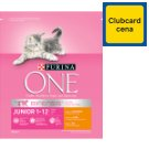 Purina ONE Junior Rich with Chicken and Whole Grain Cereals 800 g