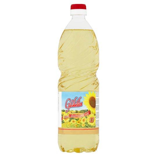 Gold Plus 100% slnečnicový olej 1 l