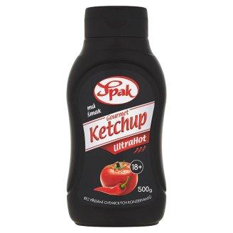 Spak Gourmet Ketchup UltraHot 500 g
