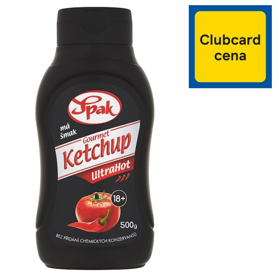 Spak Gourmet Kečup ostrý 500 g