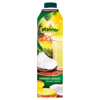 Pfanner Ananásovo-kokosový nápoj 1 l