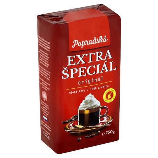 Popradská Extra Special Roasted Ground Coffee 250 g