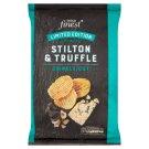Tesco Finest Smažené zemiakové lupienky s príchuťou syra Stilton a hľuzoviek 150 g