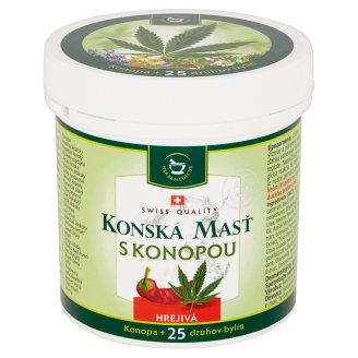 Herbamedicus Konská masť Warm with Cannabis 250 ml