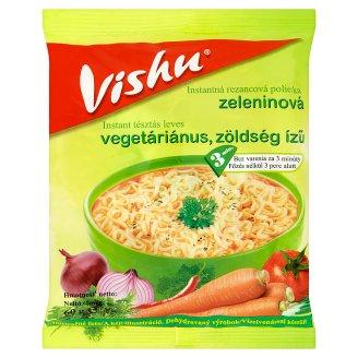 Vishu Instantná rezancová polievka zeleninová 60 g