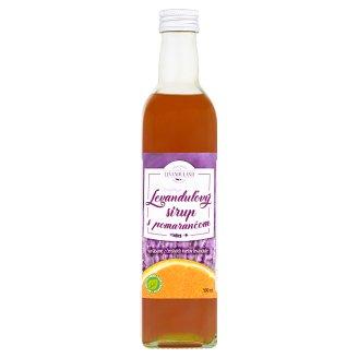 Levanduland Originál levanduľový sirup s pomarančom 500 ml