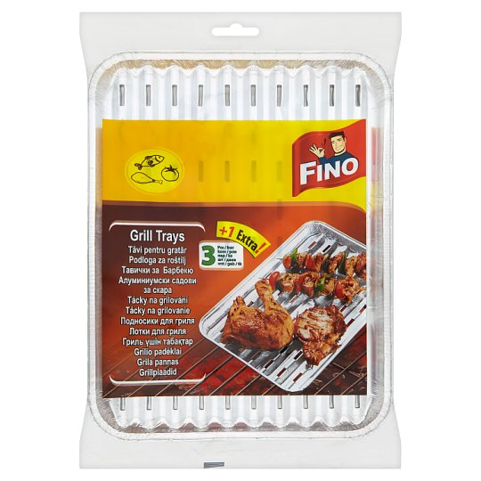 Fino Grill Trays 3 pcs