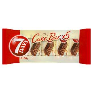 7 Days Cake bar tyčinka s kakaovou náplňou 5 x 30 g