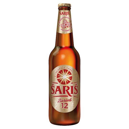 Šariš 12% zlatá svetlé pivo 500 ml