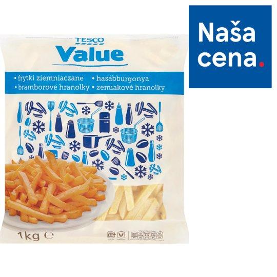 Tesco Value Zemiakové hranolky 1 kg