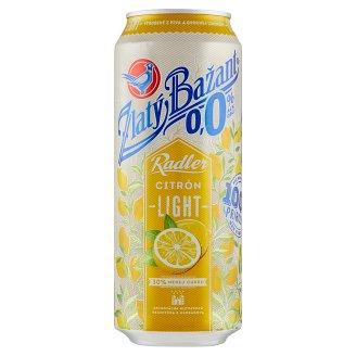 Zlatý Bažant Radler 0,0% citrón light 500 ml