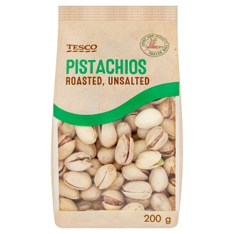 Tesco Pistachios Roasted, Unsalted 200 g