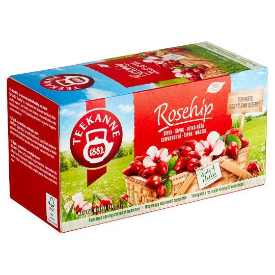 TEEKANNE Šípkovo-ibištekový čaj, 20 vrecúšok, 54 g