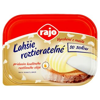 Rajo More Easily Spreadable with Salt 225 g