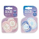Lovi Night & Day Dynamic Soother Silicone 0-3m