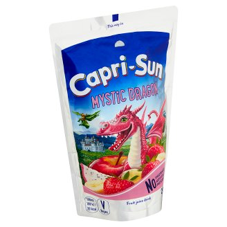 Capri-Sonne Mystic Dragon Not-Carbonated Non-Alcohol Fruit Drink 200 ml
