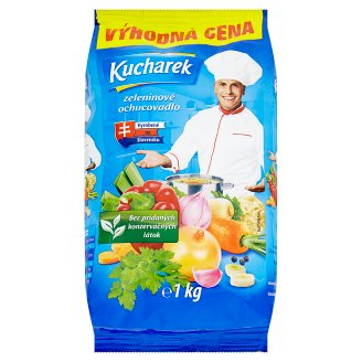 Kucharek Zeleninové ochucovadlo 1 kg