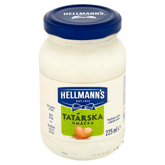 Hellmann's Tartar Sauce 225 ml