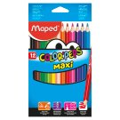 Maped Color'Peps Maxi Coloured Pencils 12 pcs