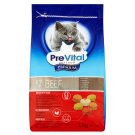 PreVital Premium Complete Pet Food for Adult Cats with Beef 1.5 kg