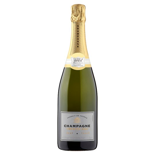 Tesco Finest Premier Cru Champagne Sparkling White Wine 750 ml
