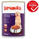 Brunos Complete Food for Dogs with Beef in Sauce 415 g