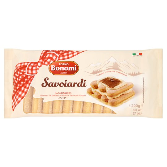 Forno Bonomi Savoiardi Oven Baked Confectionery Product 200 g