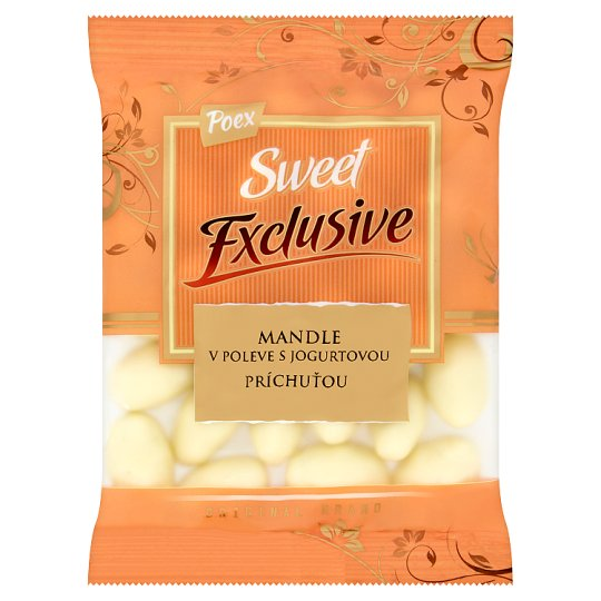 Poex Sweet Exclusive Almonds in Glaze with Yoghurt Flavour 150 g