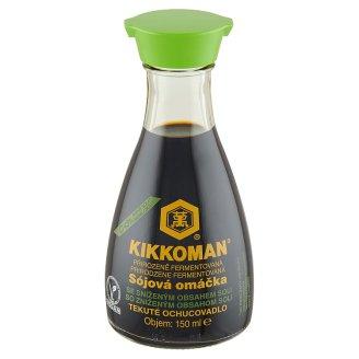 Kikkoman Naturally Brewed Less Salt Soy Sauce 150 ml