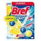 Bref Power Aktiv Juicy Lemon tuhý WC blok 50 g