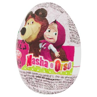 Dolfin Masha e Orso Milk Chocolate Egg with Surprise 20 g