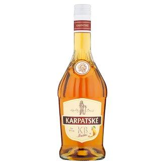 Karpatské Brandy Carpathian KB Pear 36 % 0.7 L