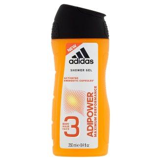 Adidas Adipower sprchový gél 3 v 1 250 ml