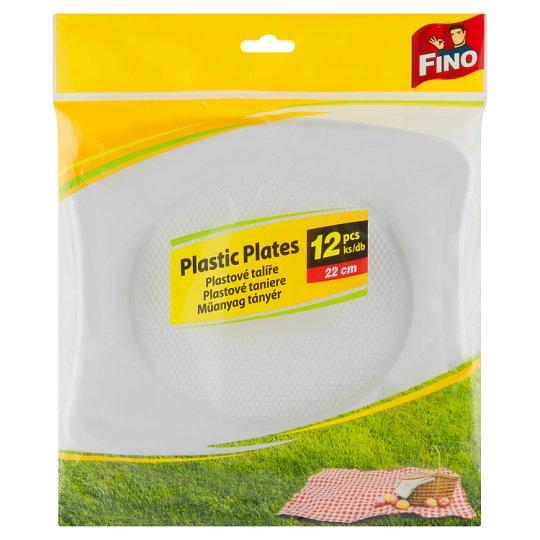 add4c83bc40c1 Fino Plastové taniere 22 cm 12 ks - Tesco Potraviny