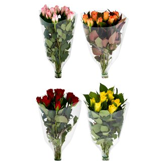 Tesco Bouquet of Roses 40 cm 9 pcs
