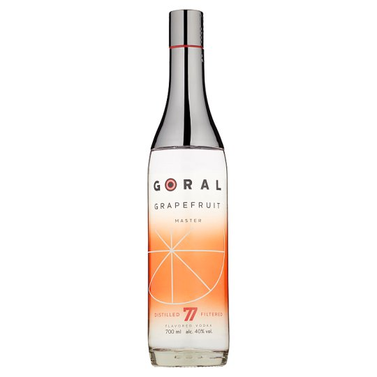 Goral Master Vodka s grapefruitovou príchuťou 40 % 700 ml