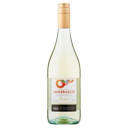 Tesco Lambrusco Dell' Emilia IGT perlivé biele víno polosladké 750 ml