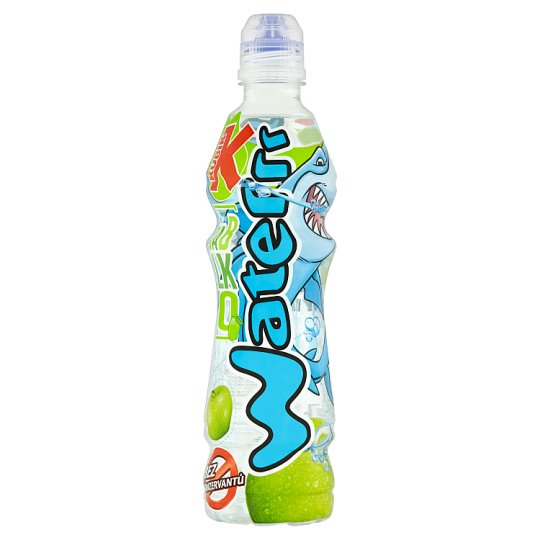 Kubík Waterrr Non-Carbonated Drink with Apple Flavour 500 ml