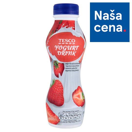 Tesco Strawberry Yoghurt Drink 350 g