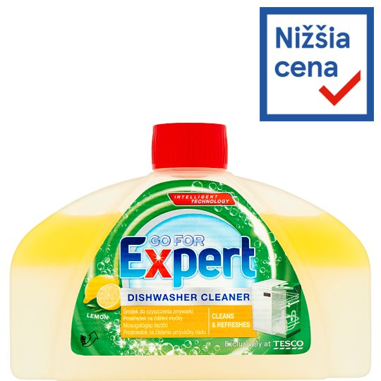 Go for Expert Prostriedok na čistenie umývačky riadu Lemon 250 ml