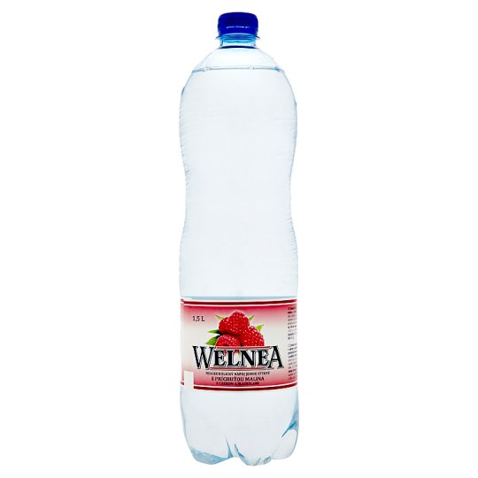 Welnea Nealkoholický nápoj jemne sýtený s príchuťou malina 1,5 l