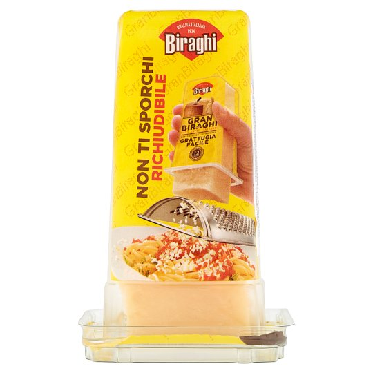 Biraghi Gran zrejúci stredne tučný porciovaný tvrdý syr 200 g