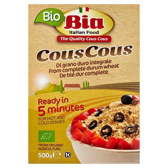 Bia Bio Whole Wheat Couscous 500 g