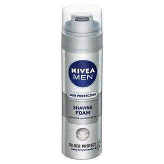 Nivea Men Silver Protect Pena na holenie 200 ml