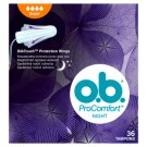 O.B.® ProComfort Night Tampóny super 36 ks