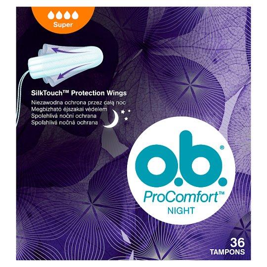 O.B.® ProComfort Night Tampóny super 36 ks