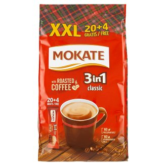 Mokate Caffetteria 3in1 Classic Coffee Drink in Powder 24 x 18 g