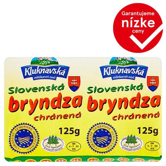 Kluknavská Mliekareň Slovenská bryndza 125 g