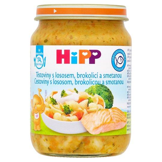 HiPP Pasta with Salmon, Broccoli and Cream 250 g
