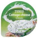 Tesco Mäkký čerstvý nízkotučný syr s pažítkou 200 g